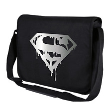 Superman's Death | Comic | Kult | Hero | Schwarz | Umhängetasche | Messenger Bag
