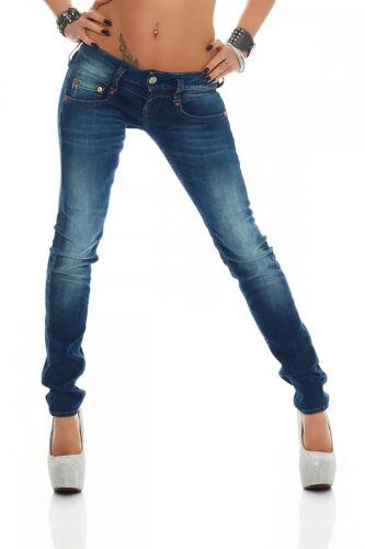 634 Neu RöhreDamen Hose Jeans Slim HerrlicherPitch D9666 I2EDH9