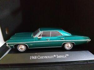 1 43 Chevrolet Impala 1968 Ixo Rare Diecast American Model Car Ebay