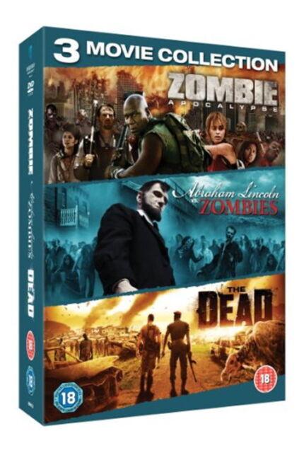 Zombie Triple (Zombie Apocalypse / Abraham Lincoln vs Zombies / The Dead) [New D