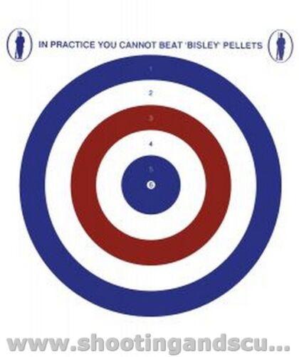 14cm Rosso obiettivi ECONOMIA White Blue-Confezione da 20 per Pistola ad Aria Rifle Pistola