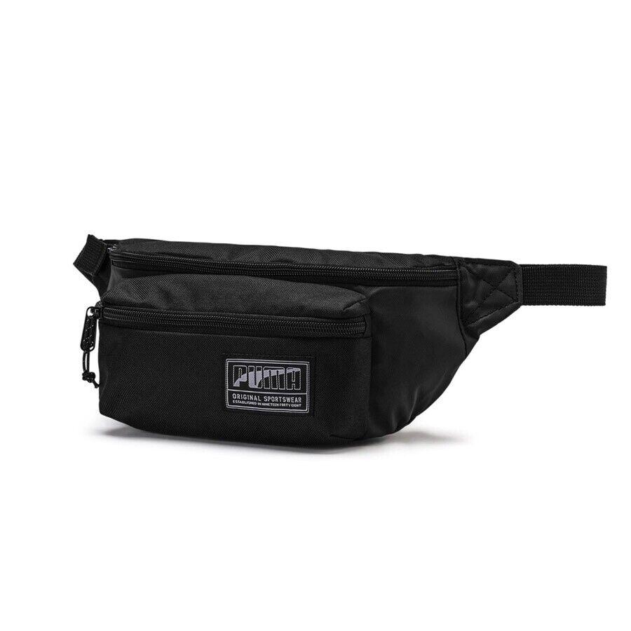 Спортивная поясная сумка Grteltasche Puma Academy Waist Bag 07585501 schwarz Bauchtasche Tasche