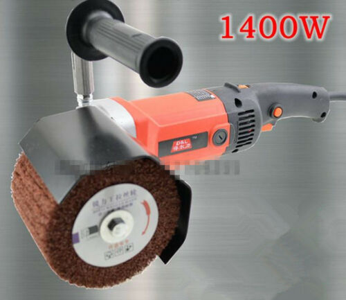 1400W 220V Burnishing Polishing Machine Polisher/Sander & 2 Wheels Free shipping