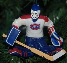 Jeff Hackett Montreal Canadiens Goalie NHL Custom Christmas Tree Ornament