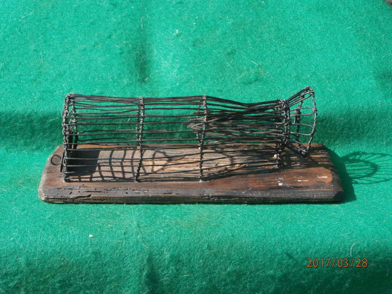 Agradable Antiguo Mouse Trap, Ratonera