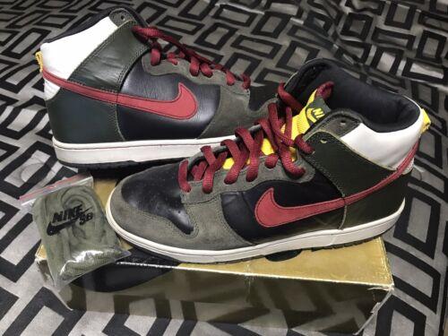 Nike Dunk High Premium SB Boba Fett Star Wars Size