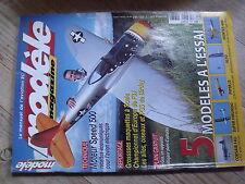 "$$ Revue modèle magazine N°603 Plan encarté ""Ti-Gus""  Corsair F4U  Super Hirundo"