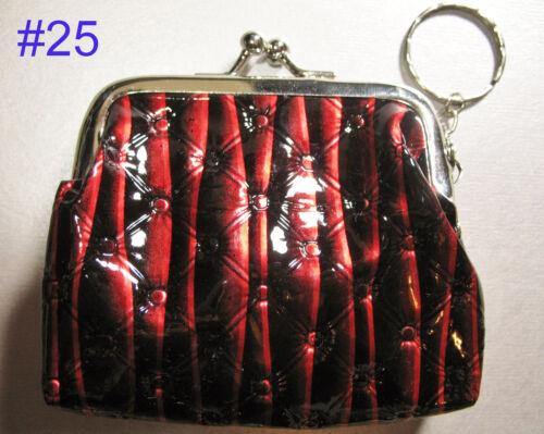 Coin PURSE Keyring Ladies Womens Girls Kids Gift Small Bag Cute Present Keychain