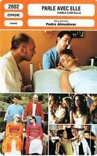 FICHE CINEMA : PARLE AVEC ELLE - Flores,Cámara,Chaplin,Almodovar2002 Talk To Her