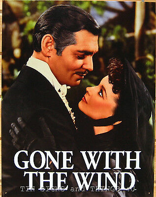 Gone With The Wind TIN SIGN hollywood metal poster home theater wall decor #1348