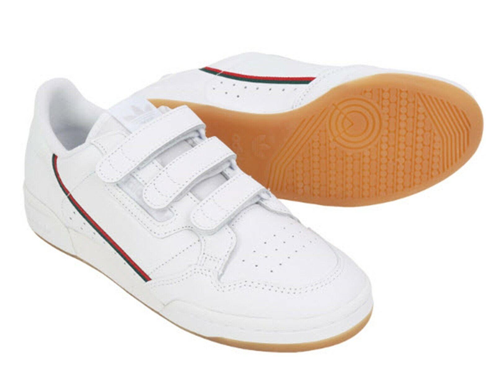 Adidas Men Continental 80 STRAP Schuhe Laufen Weiß Turnschuhe Casual schuhe EE5359