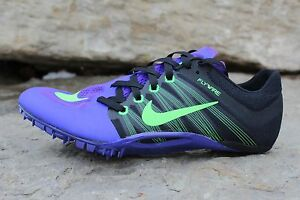 a6ef61abcc6e7 14 Men s Nike Zoom Ja Fly 2 Sprint Track Spikes Purple Black 705373 ...