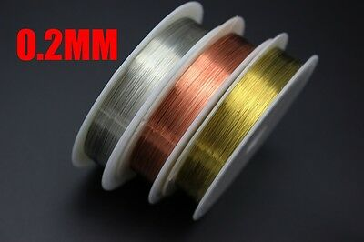 10colors 0.3mm*10m Copper Wire Midge Larvae Nymph Lure Making Fly Tying Material