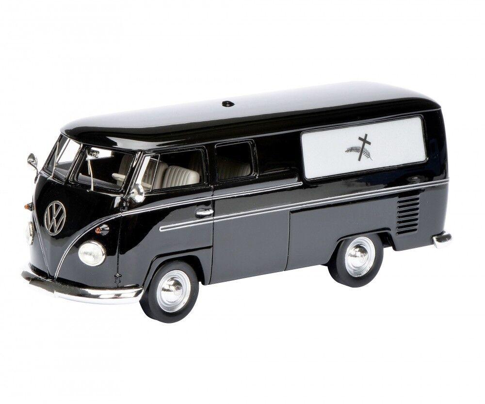 Schuco hkonstse modellllerlerlbil 1 43 VW Volkswagen T1 bästattungswagen svkonst