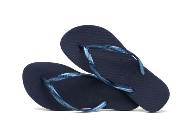 c411a9e99 Havaianas Hav. Slim Flip Flops Blue UK 5 EU 38 Ln23 45 for sale ...
