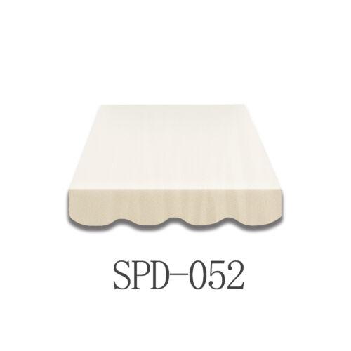 6m Markisen Volant Markisenbespannung Ersatzstoff  Neu NUR VOLANT SPD052