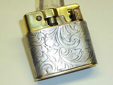 "MYLFLAM ""1000 ZÜNDER"" D.R.P. POCKET LIGHTER WITH SILVER CASE - 1936 - GERMANY"