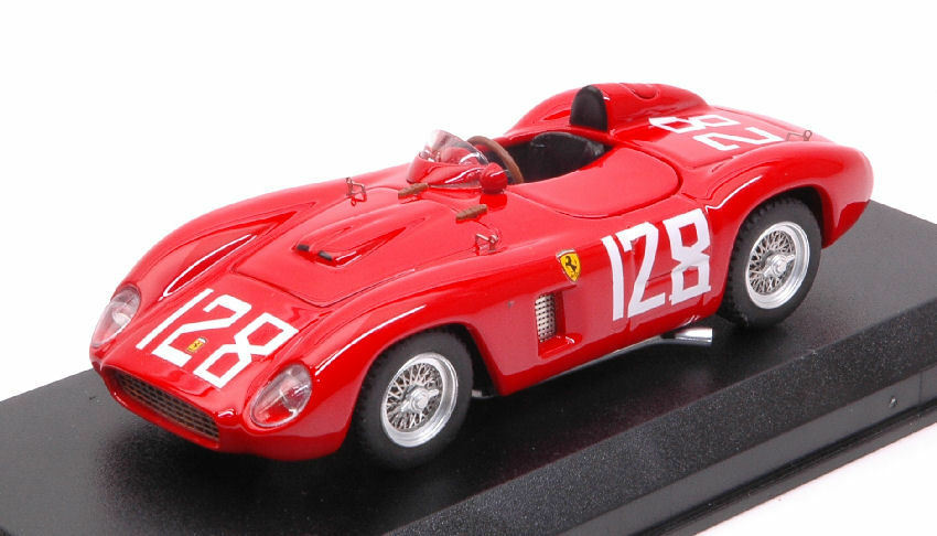 Ferrari 500 Tr  128 Winner Brynfan Tyddyn Road Races 1956 C. Shelby 1:43 Model