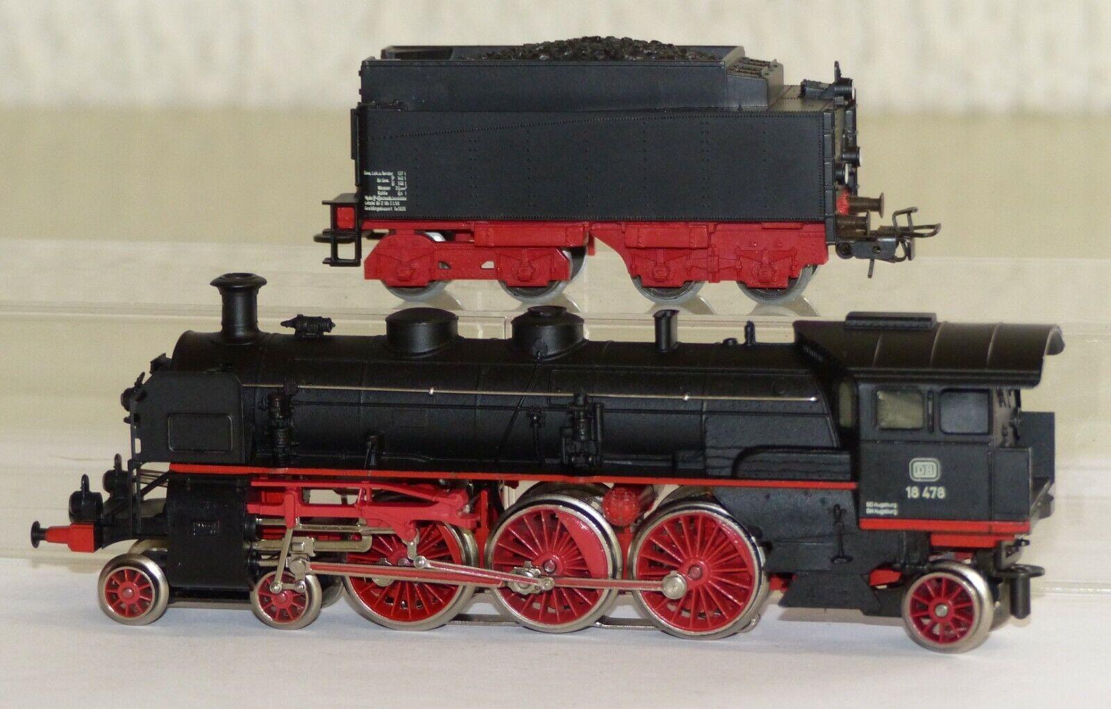 Märklin 3093 Dampflok Dampflok Dampflok BR 18 478 DB H0 1 87 OVP Schlepptenderlok    New Products  eda7a5