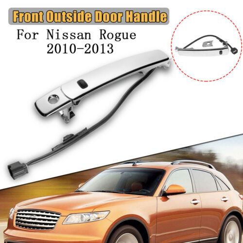 Front LH Outside Door Handle Smart Entry For Nissan Rogue 80640-CZ31B US STOCK