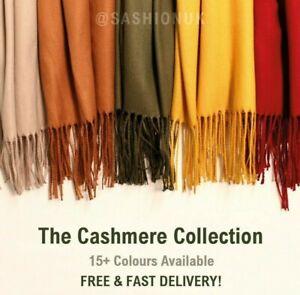 Cashmere-Feel-Scarf-Wrap-Soft-Pashmina-Wool-Scarf-Cashmere-Shawl-17-Colours