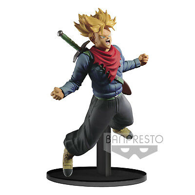 Dragonball Figur Banpresto World Figure Colosseum Trunks Beschädigte VERPACKUNG