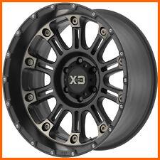 4 17x9 Xd Hoss Ii Xd829 568 Lug New Blacktinted Wheels Free Caps Amp Lugs