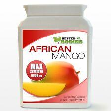 Mango Africano Fuerza Max 6000mg Max Pérdida de Peso Dieta Adelgazar Botella de 60