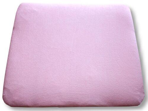 Frotteebezug Bezug für Wickelauflage 70x75 und 70x85 cm rosa