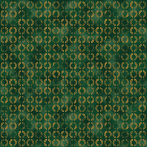 por Metro 1//4 4593-806 Verde Quilting fabric Stof momentos mágicos