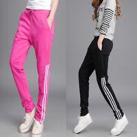 Women Casual Harem Pants Slim Sport Jogger Sweatpants Tracksuit Jogging Trousers