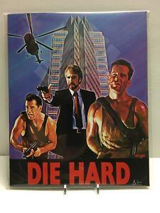 Die-Hard-Signed-Bam-Box-8-x-10-Print-Oscar-Van-Rare-Variant-199-500-Bruce-Willis