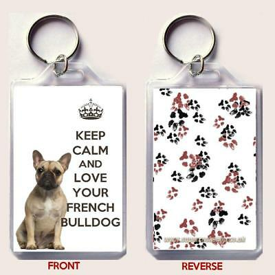 KEEP CALM and LOVE YOUR CHIHUAHUA Keyring Unique Christmas//Birthday Gift idea