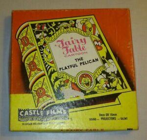 . Vintage Fairy Fable Le Playful Pelican #489 Super 8 Mm Film Bon état.-afficher Le Titre D'origine Bonne RéPutation Sur Le Monde
