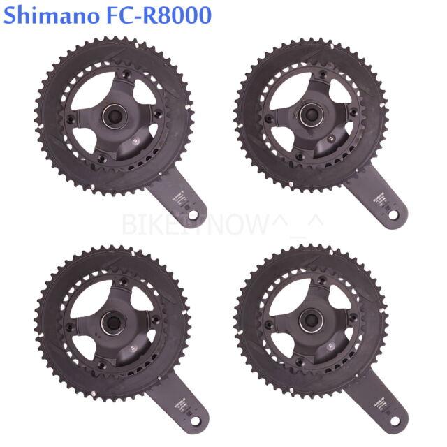 SHIMANO FC-R345 Crank Set 2x9-speed 50//34 black 2020 Chainsets Mountain bike