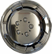 "SUPREMO CHROME 14"" Wheel Trims Deep Dish Hub Caps for CHEVROLET KALOS"