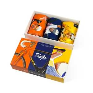 Pacifico Cycling Legends Gift Box 15666004229  CALZADO CALCETINES LARGOS FINOS  estilo clásico
