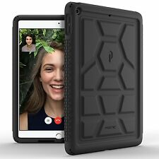 Poetic TurtleSkin Rugged Case With Heavy Duty for iPad 9.7 (2017) BLK