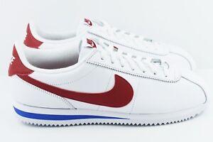 7ab16a209eeb Nike Cortez Basic Leather OG Mens Size 10 Shoes Forrest Gump 882254 ...