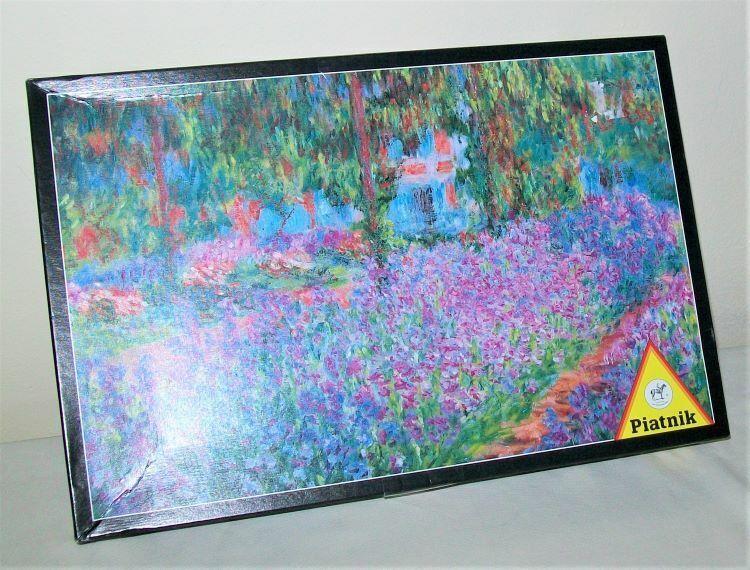 Wooden Jigsaw Puzzle 500 PCS Impression Soleil Levant Claude Monet Art Painting