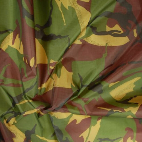 Camo Ripstop Army Military Camouflage Fabric Material 60/'/'//150cms Wide Rip-Stop