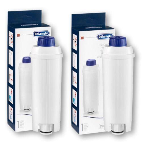DeLonghi Wasserfilter DLS C002 für Kaffeevollautomaten 2 Stück