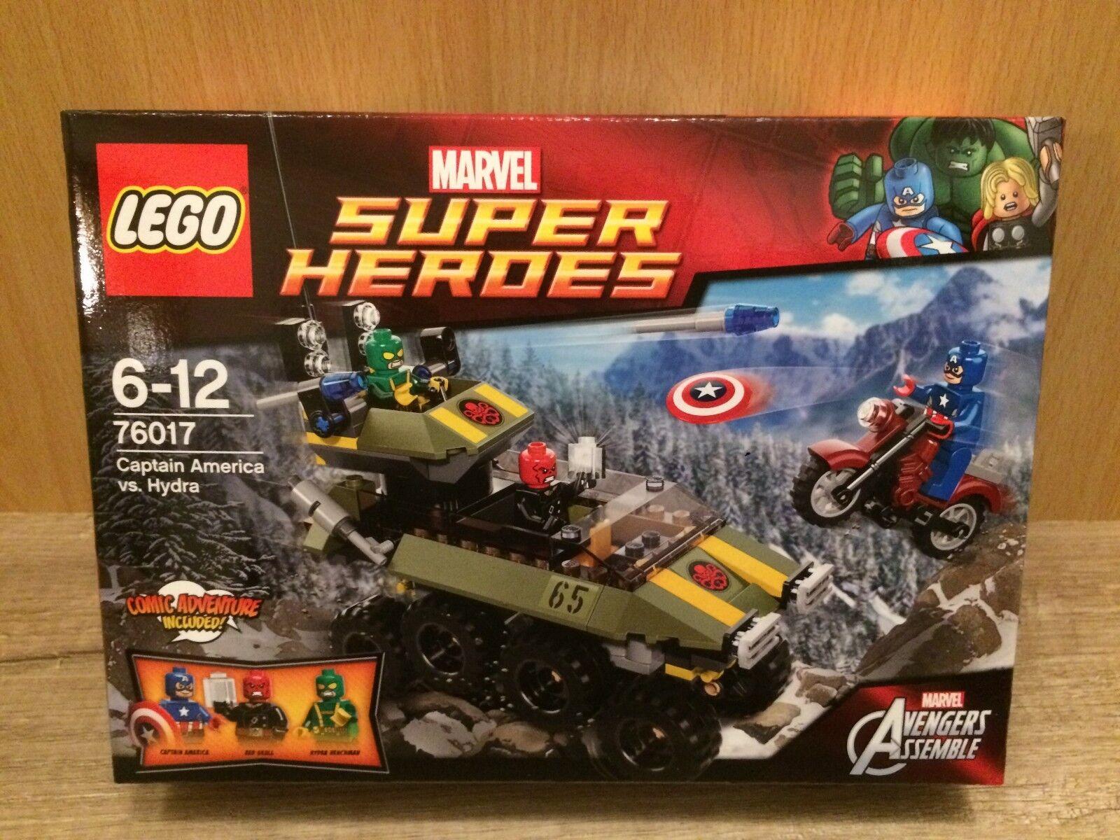 Lego 76017 Capitaine America vs. Hydra Marvel Super Heroes NEUF new neuf dans sa boîte