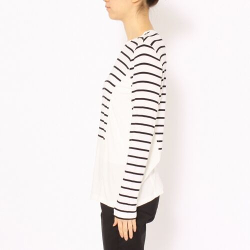 Shirt Langærmet Bcbg Morgin Fashion Top Striped Azria Max Kvinders Sweater Pvf4x