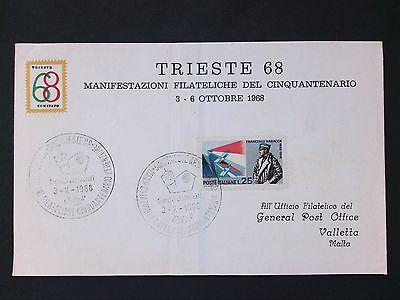 KöStlich Italien 1968 Tireste Triest Cover D2818