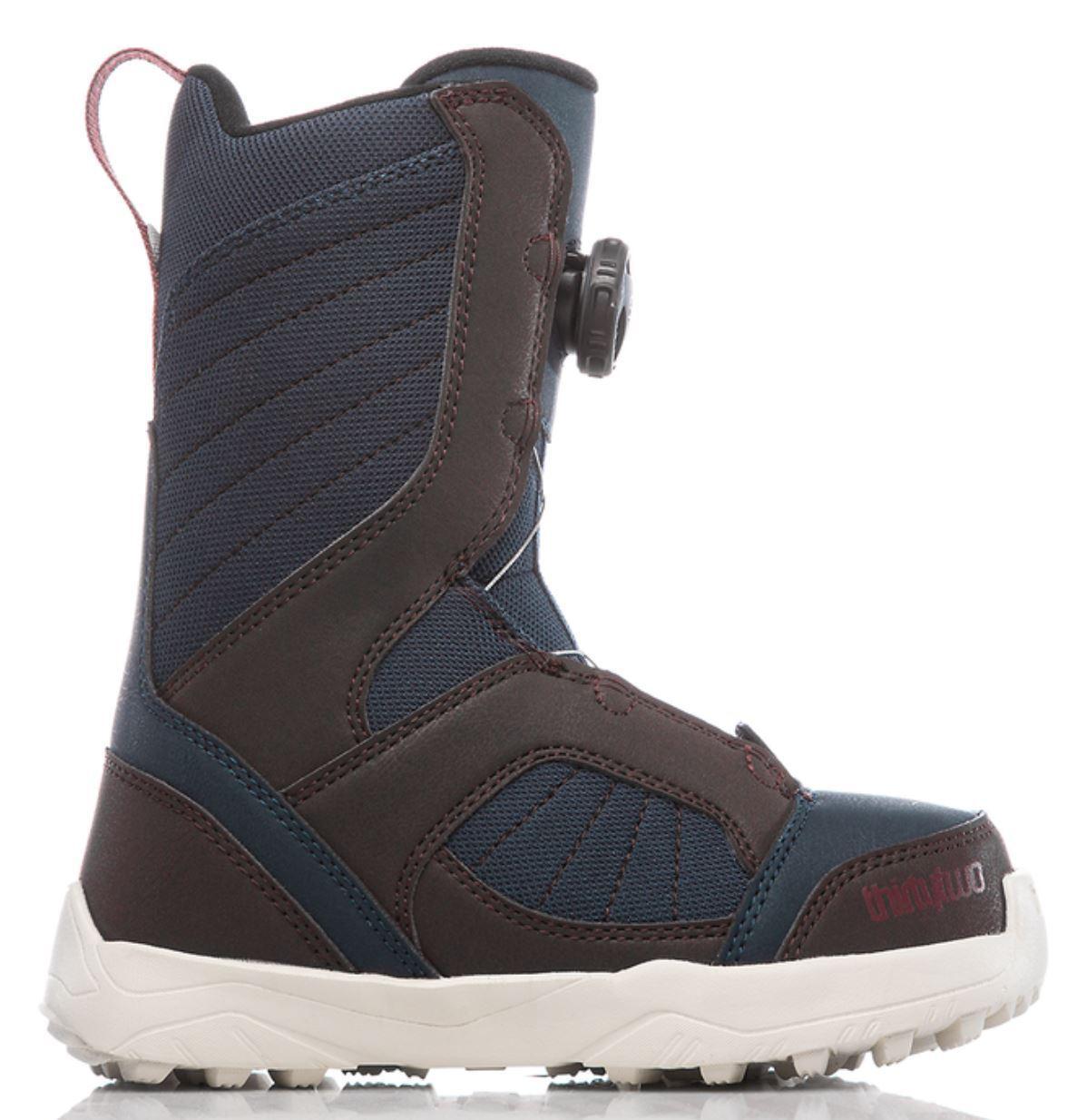 ThirtyTwo BOA Kids Soft Flex Snowboard Boots 2C  Brown Navy NIB  online shopping and fashion store