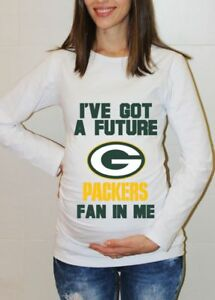 Green Bay Packers Baby Baby Shower Shirt Football Baby Maternity ... de40c8f93