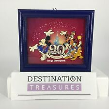 Tokyo Disney Disneyland 20th Anniv Framed Jumbo Pin 20 Year Kingdom Dreams Magic