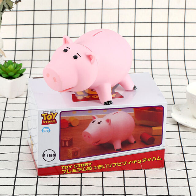 Toy Story Hamm Piggy Bank Coin Save Money Box Ham Figures Pig Kids Gift NEW PQ