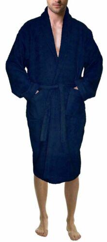 Skylinewears Mens Shawl Collar 100/% Terry Cotton Bathrobe Toweling Robe